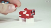 MC建筑欣赏:LEGO速拼-飞熊TV#我的世界#