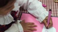 宝宝在幼儿园画画