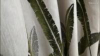 45芭蕉竹节棉竹节窗帘客厅窗帘装修效果图展示效果艺术氛围浓烈