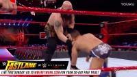 RAW 2017 wwe 大秀哥VS闪亮双星 强弱不等赛成巨人表
