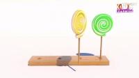 益智早教!冰淇淋棒棒糖学习颜色