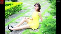 【海南SEO】日本清纯少女户外婚纱白裙写真清新