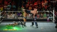 WWE2017年3月14日RAW(中文解说)斯丁回归wwe