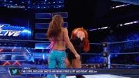 WWE2017年SD第915期:三局两胜制米琪詹姆斯VS贝基林