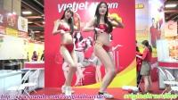 2017台北旅展 越捷航空 比基尼辣妹性感熱舞 開場