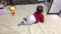 宝宝六个月学习爬