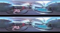 VR美女 休息日水中嬉戏 柔情似水欧洲风情