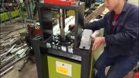 钢材市场开料 5.0冷拉扁钢冲断专用液压冲孔机