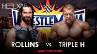 WWE Wrestlemania 33 Match Card 2017