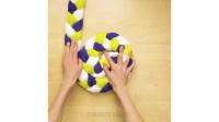 手工制作纯天然石头脚垫,按摩脚底真舒服