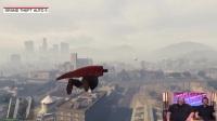 《GTA5》超人MOD游戏演示