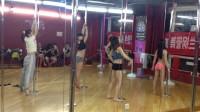 兴罗兰钢管舞舞蹈教学现场培训