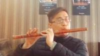 王老师竹笛独奏《女儿情》、笛音袅袅、经典重现