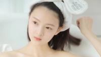 白皙清纯美女性感浴袍写真