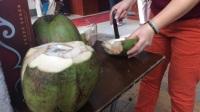 大刀砍椰子