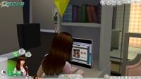 模拟人生4DLC《都会生活》搬进公寓18 小月是一个美丽的小厨娘