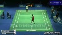 2017年瑞士羽毛球黄金赛 男单1/4决赛 普拉诺伊VS石宇奇