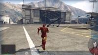 GTA5:10个钢铁侠大闹飞机场
