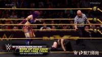 NXT最凶猛的女将明日华暴虐对手 放弃双肩压地