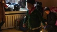 延吉开山屯孤儿院给那里的小朋友表演