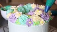 陶艺蛋糕裱花视频 陶艺蛋糕教学视频提拉米苏蛋糕图片