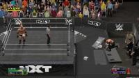 WWE2K17 高柏VS萨摩亚乔 NXT冠军腰带争夺战 传奇难