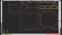 CAD教程,免费CAD学习,室内设计,CAD-老人卧室吊顶的绘制