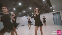 单色舞蹈拉丁舞团训练实录 拉丁舞团训课堂
