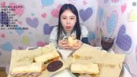 韩国女主播弗朗西斯卡大胃王吃播大挑战(六大份
