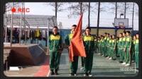 青少年素质教育学校周一升国旗仪式