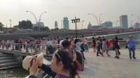 新加坡【狮身鱼尾像】