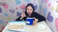 韩国女主播弗朗西斯卡大胃王吃播大挑战(冰爽冰