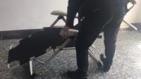 美人鱼折叠躺椅打开收放视频.mp4