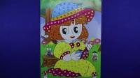爱乐家园 亲子游戏 小女孩钻石贴画 儿童智力手工白雪公主