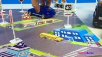 快车道城市车辆设置T回收卡车拖车出租车和城市汽车