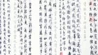 姜军先生沐手恭录《佛经》系列作品