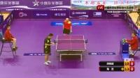第二场:胡俊超VS陈茂 中国体育彩票超级大乐透杯重庆宣和乒乓球俱乐部0VS1澳门快乐球会半决赛