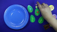 爱乐家园亲子游戏 大树贴纸画 儿童趣味手工