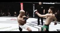 佩恩UFC回归之战很惨烈 他被对手的跆拳道踢法踢
