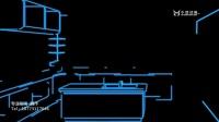 AE室内建筑动画线条动画二维动画科技感动画视频制作.avi