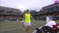 WTA查尔斯顿站第二轮HL:罗杰斯VS凯斯