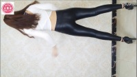 【丝舞阁瑶瑶】美女皮裤热舞自拍 紧身裤mm 性感主播热舞皮裤舞蹈_超清