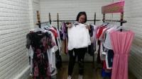 40603 韩版女装 2017年爆款韩版女装9.9元 全场低价女装批发网视频实拍走份