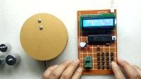 300b-单片机电子秤 5kg称重 带万年历和闹钟