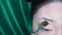 【Cara Wu】绿与橙的碰撞,在你的眼上绽放的双生花@唯美美妆