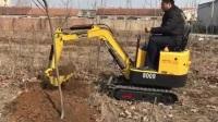 最小微型挖机非二手小型挖机农用挖掘机迷你小型挖土机全新钩机