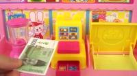 婴儿娃娃和热狗食品车卡车玩具玩具