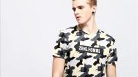 ZWHNL佐纳利时尚夏季男士印花衬衫搭配 骚动的心G