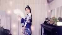 郭mini半藏桃花旗袍cos大秀舞技