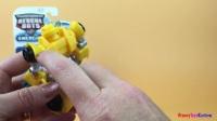 变形金刚大黄蜂救援机器人和格雷厄姆·伯恩斯